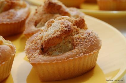 Muffins sans gluten et sans oeufs - gluten-et-alternative.fr - Doriane