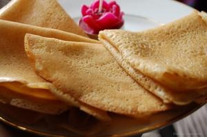 Crêpes sans gluten sans oeufs sans lactose - Doriane gluten-et-alternative