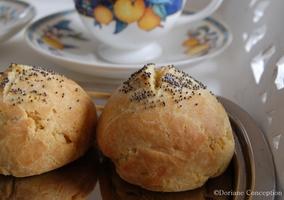 Petit pain express sans gluten ni levure - Doriane
