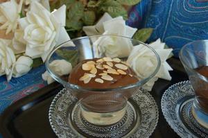 Crème choco sans gluten ni oeuf ni chocolat - gluten-et-alternative.fr - Doriane