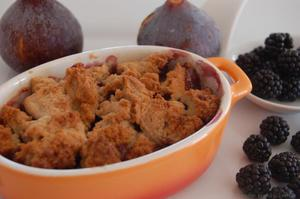 Crumble sans gluten - gluten-et-alternative.fr - Doriane