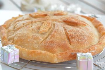 Galette des rois sans gluten ni oeuf ni lactose ni sucre - Doriane